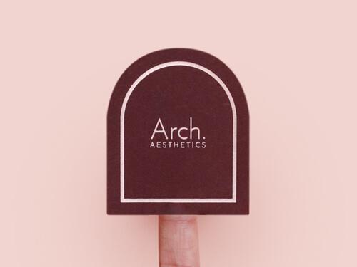 STYLISH ARCH SHAPE STICKER