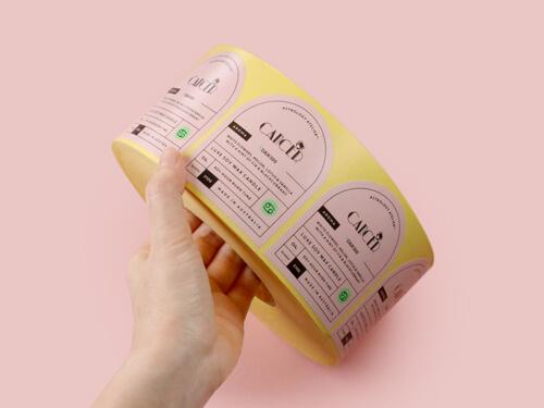 Handroll Sticker