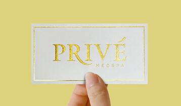 luxury foil sticker