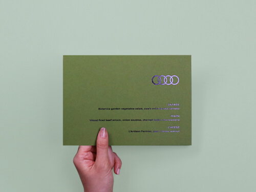 Ecocolor Custom card