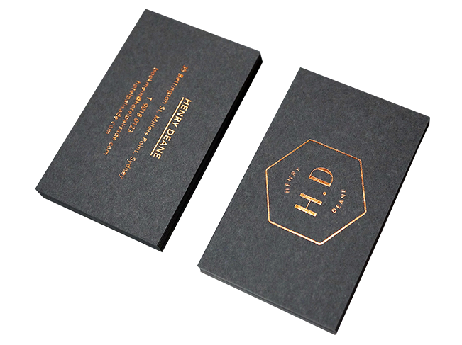 Grey Business Cards