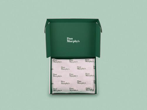 TISSUE PAPER + MAILER BOX SET
