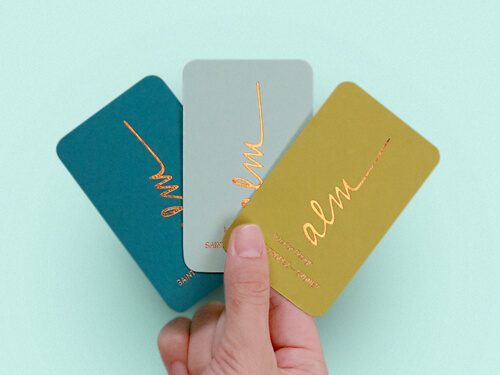COLORPLAN BUSINESS CARD