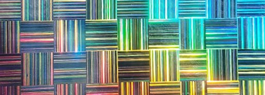 Hologram Plastic Card