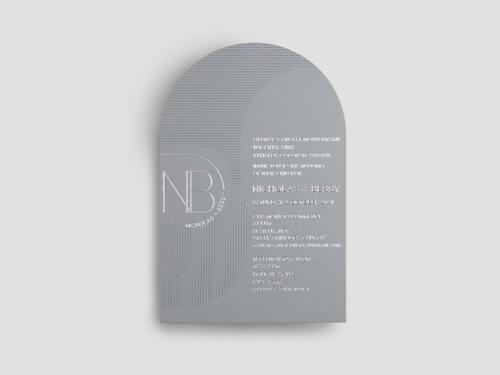 Colorplan INVITATION
