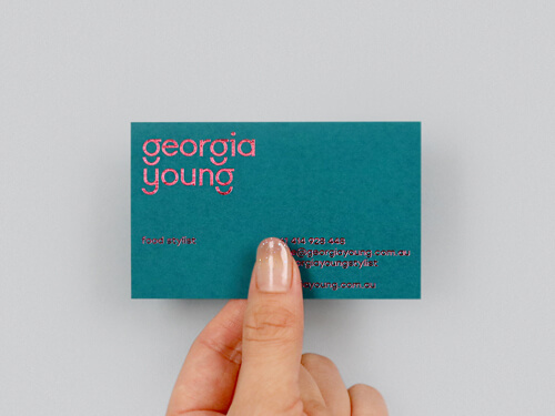Eco colours Business card
