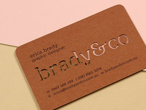 Laser Cutting Business Cards NYC, USA